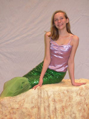"Ariel, played by Annie Skorupa, leads the cast of ""Disney's ""The Little Mermaid""  presented by St. Matthew's CYO Friday through Sunday."