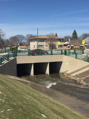 Waukesha's preferred route for its Lake Michigan water diversion pipeline goes under Honey Creek at W. Morgan Ave. in Milwaukee.
