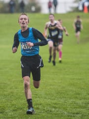 Sophomore Gavin Groshelle is a fine cross country runner and soccer player this fall at Great Falls High.