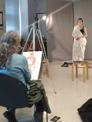 Image from a Frist figure study workshop.