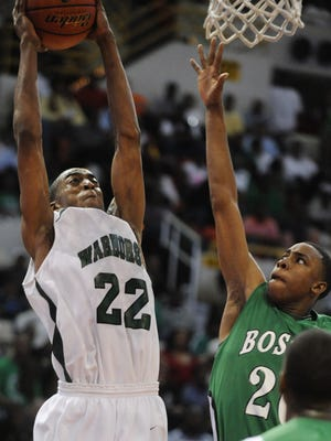 Former Peabody star Markel Brown helped lead the Warhorses to a perfect season and the Class 4A State High School Championship title in 2010.