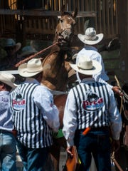 The 83rd Augusta American Legion PRCA Rodeo will have there slack Saturday at 5, and the main rodeo Sunday at 2 p.m.