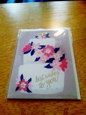 Sweet little greeting card from Welcome Home.
