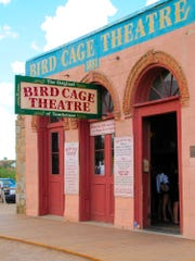The Bird Cage in Tombstone was a combination theater, saloon, gambling hall and brothel sealed up in 1889. Today it serves as an intriguing museum.