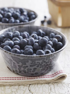 Fresh blueberries can be used in a variety of desserts.