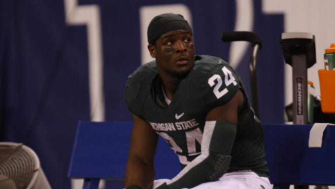 Michigan State's Le'Veon Bell.