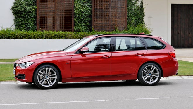 Under the hood of the 2014 BMW 328d xDrive Sports Wagon is a 2.0-liter turbo-diesel that delivers 180 horsepower, 280 lb.-ft. of torque and near-hybrid fuel economy ratings of 31/43 mpg city/highway.