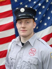 Brewster firefighter Mike Larm.