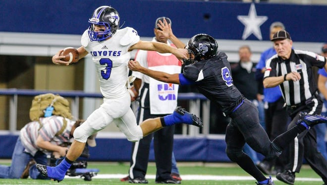 Richland Springs' Walker Tippie was named the state's Player of the Year last season in Class 1A Division II.