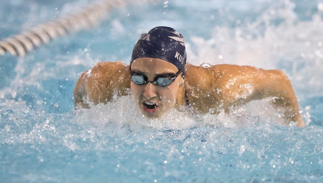Wolf Pack swimmer Sita Kusserow was named the department's female scholar-athlete of the year for 2016.