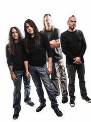 Fates Warning, from left: Jim Matheos, Ray Alder, Bobby