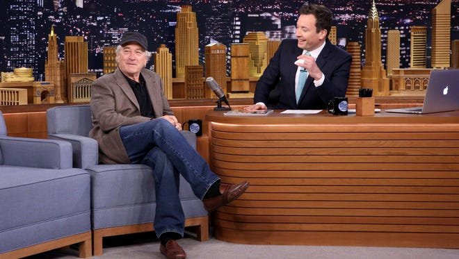 """Robert De Niro recently discussed a planned film with director Martin Scorsese on """"The Tonight Show Starring Jimmy Fallon"""" recently. The movie will be based on a book by Delaware author Charles Brandt."""