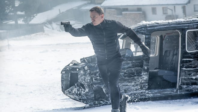 """Getting James Bond (Daniel Craig) in real action was a no-brainer for """"Spectre"""" director Sam Mendes."""