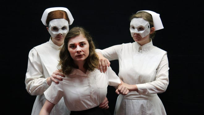 """Machinal,"" directed by theater professor Michael Phillips and written by journalist Sophie Treadwell, is an expressionist drama inspired by the true story of convicted and executed murderer Ruth Snyder."