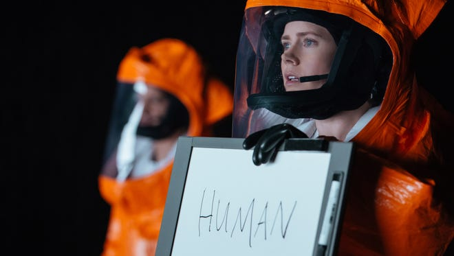 """Amy Adams as Louise Banks in """"Arrival."""""""