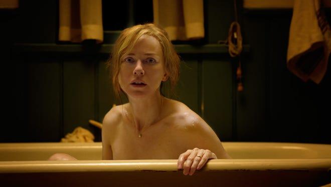 Naomi Watts takes an ill-advised bath in 'Shut In.'