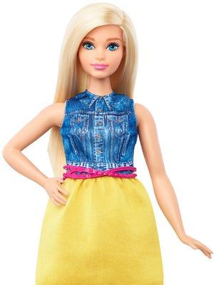 Curvy Barbie is truly curvy -- not fat!