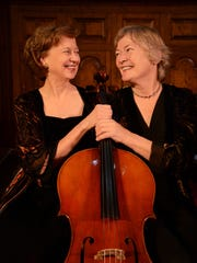 The Davydov-Fanning Duo celebrates its 40th anniversary with a concert Sunday at Middlebury College.