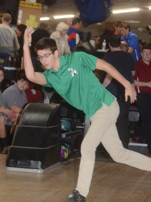 Henry Tipping and Pascack Valley rose to No. 1 in The Record boys bowling Top 10 early in the season and stayed there throughout.
