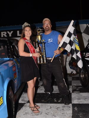 Tommie Blocker hopes to pick up a win at Five Flags Speedway on Friday night.