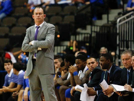 NCAA Basketball: Florida Gulf Coast at Florida
