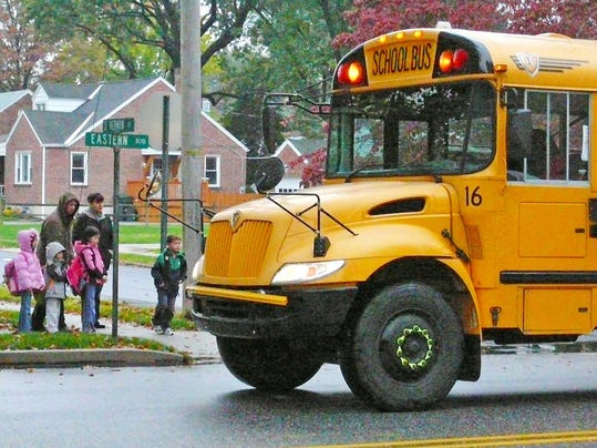 LOGO school bus