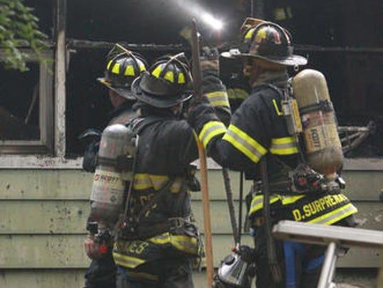 Fire at 28 Wilshire Drive, Chestnut Ridge