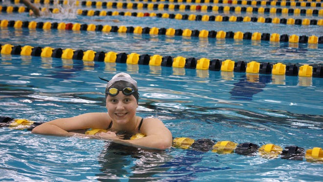 Senior Max Perrin from Climax-Scotts is swimming for Battle Creek Central High School for the MHSAA State Finals this upcoming weekend