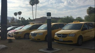 At least a dozen taxi drivers showed up Wednesday to show the Palm Springs City Council they did not support a proposed ordinance allowing Uber, Lyft to operate out of PSP.