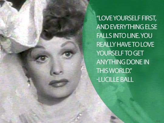 Image of: Inspirational Quotes Lucille Ball Usa Today 22 Life Quotes From Famous American Women