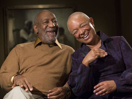 Bill Cosby and wife Camille Cosby in November 2014.