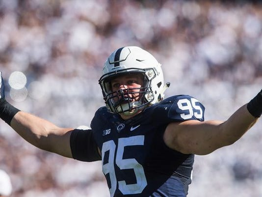 Carl Nassib has been one of the best players in the country when it comes to disrupting the quarterback. Can he and his Penn State linemates get to Illinois QB Wes Lunt quickly enough on Saturday?