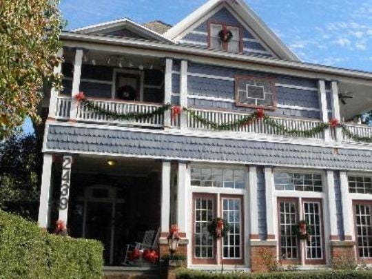Fairfield Place Bed and Breakfast in Shreveport's Historic Fairfield District.