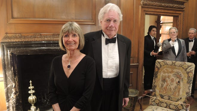 Jane Cheek and Will T. Cheek at the 1929 Dinner, held in celebration of the historic restoration of the Cheek Mansion at Cheekwood.