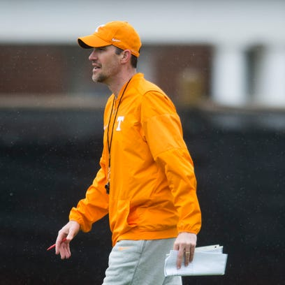 Tyson Helton is Tennessee Vols' chair-throwing, swamp-fishing offensive coordinator