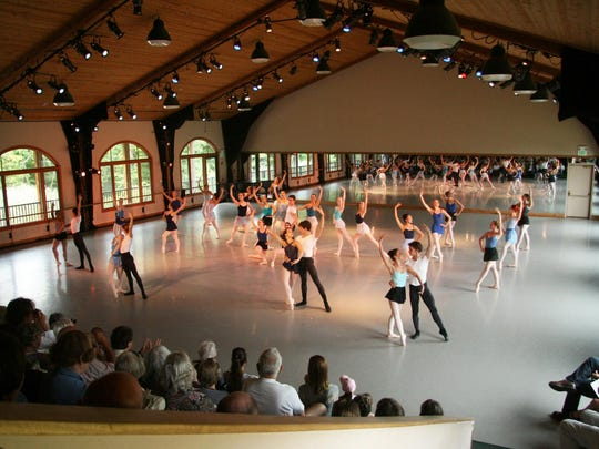 Extreme Ballet training program at Kaatsbaan attracts a nationally selected group of 120 pre-professional dancers for nine intensive weeks each summer.