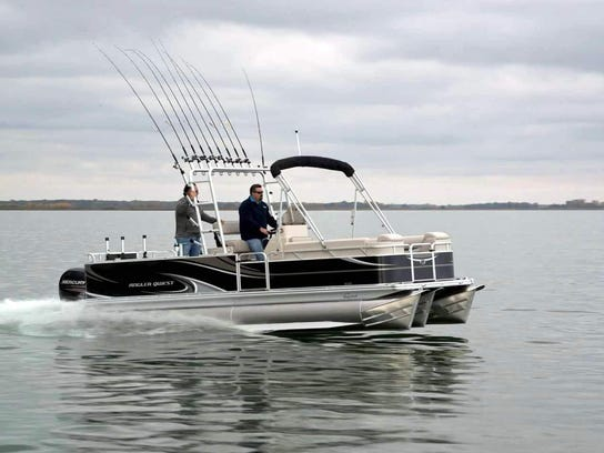Angler Qwest offers several specialty pontoons and