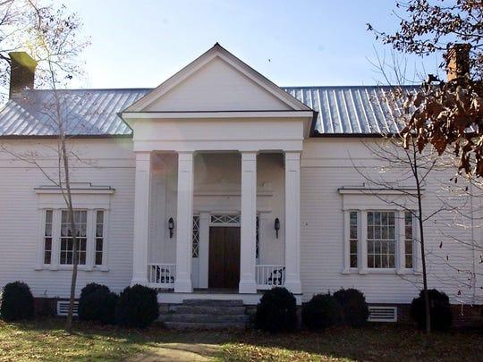 Architectual designer and builder Bill Powell built