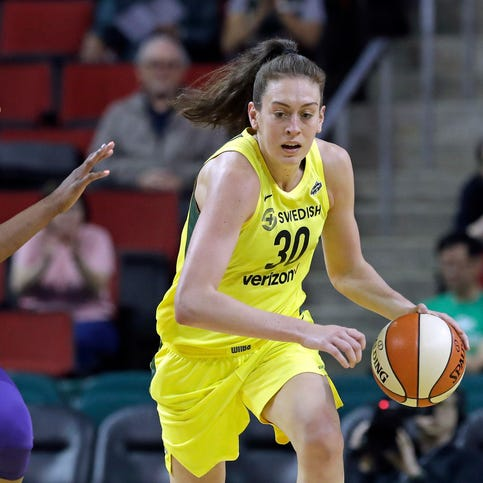 Seattle Storm's Breanna Stewart embracing chance to help sex abuse victims