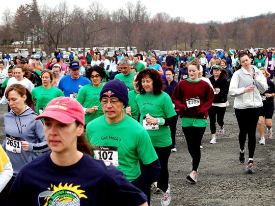 The annual Walk to Remember and the Rockland Road Runners' Hook Half Marathon and Hope 5K Run will be held on April 17.