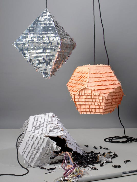 Creative Crafters Put A Homemade Spin On Pinatas