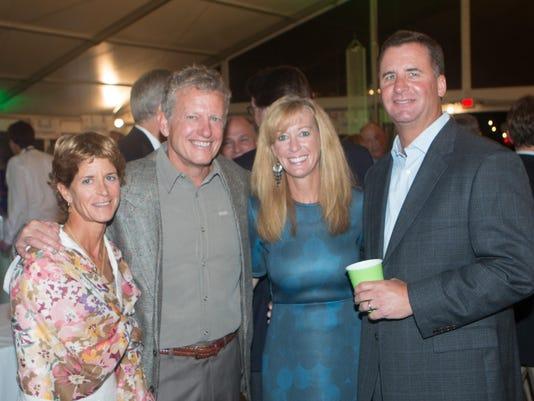 Beth and Doug Brendamour of IH, Pam and John Gibson of IH