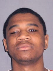 Davontae Sanford is shown in a booking photo.