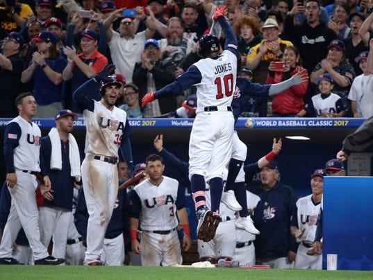 Baseball: World Baseball Classic-Venezuela at USA