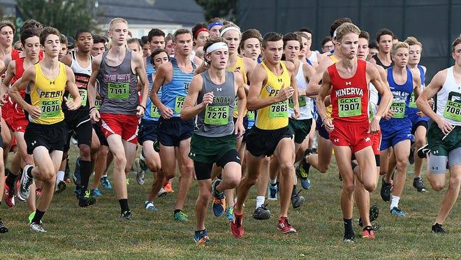 2019 Boys Stark County Cross Country Championship, Sept. 28, 2019.