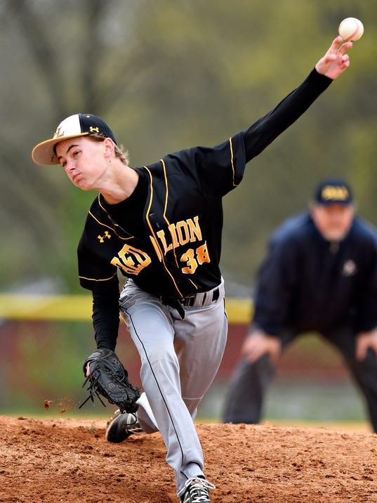 RL vs Gettysburg baseball