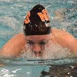Northville junior Laura Westphal set two individual Wayne County and Grosse Pointe South pool records on Saturday.