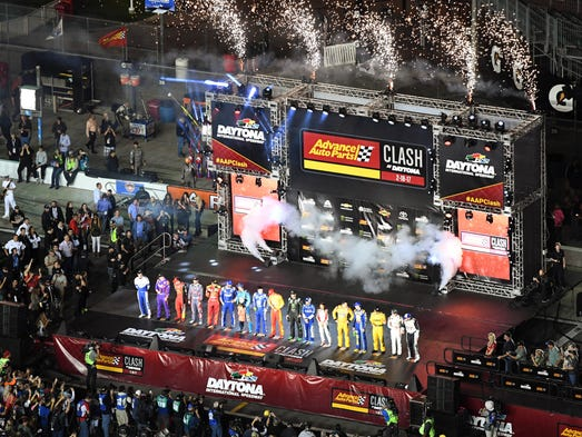 Feb. 18: The Advance Auto Parts Clash at Daytona International