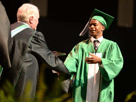 Parkside High School held their 2018 graduation ceremony