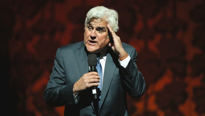 Jay Leno will perform June 4 at The State Theatre in New Brunswick.